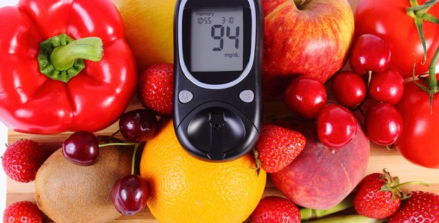 What is a healthy, balanced diet for diabetes?